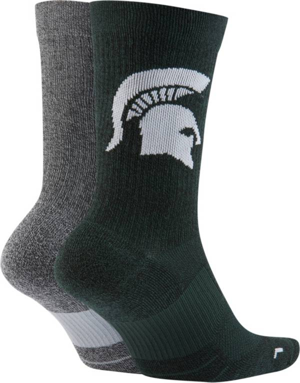 Nike Michigan State Spartans Multiplier 2-Pair Socks product image