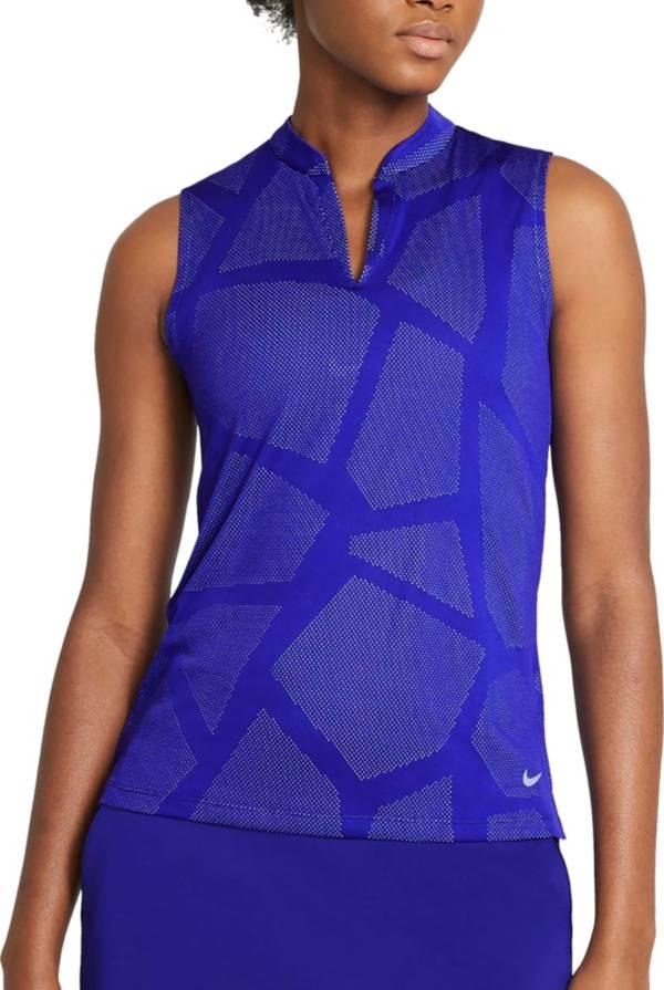 Nike Women's Jacquard Sleeveless Golf Polo product image