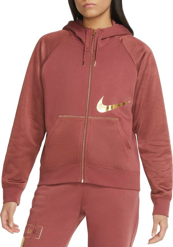 Nike Women's Sportswear Icon Clash Full-Zip Fleece Hoodie product image