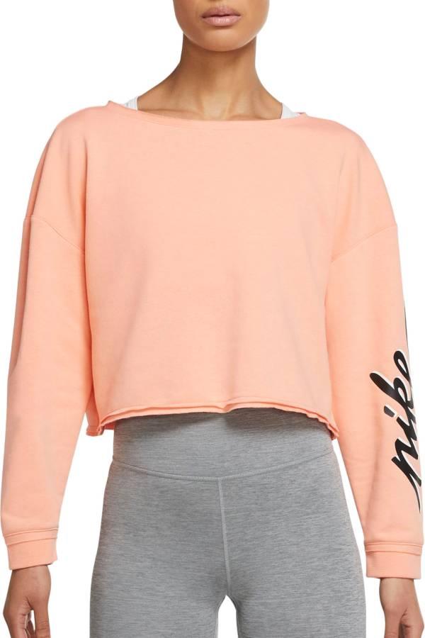 Nike Women's Femme Cropped Training Crew Sweatshirt product image