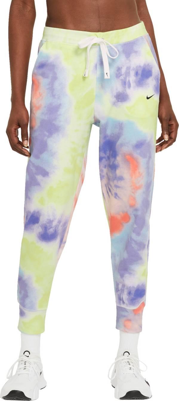 Nike Women's Dri-FIT Get Fit Tie Dye 7/8 Training Pants product image