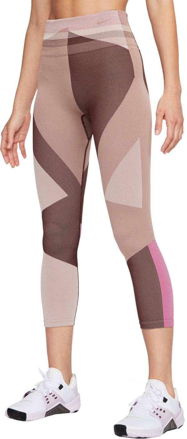 Nike Women's Sculpt Icon Clash Seamless 7/8 Training Tights product image
