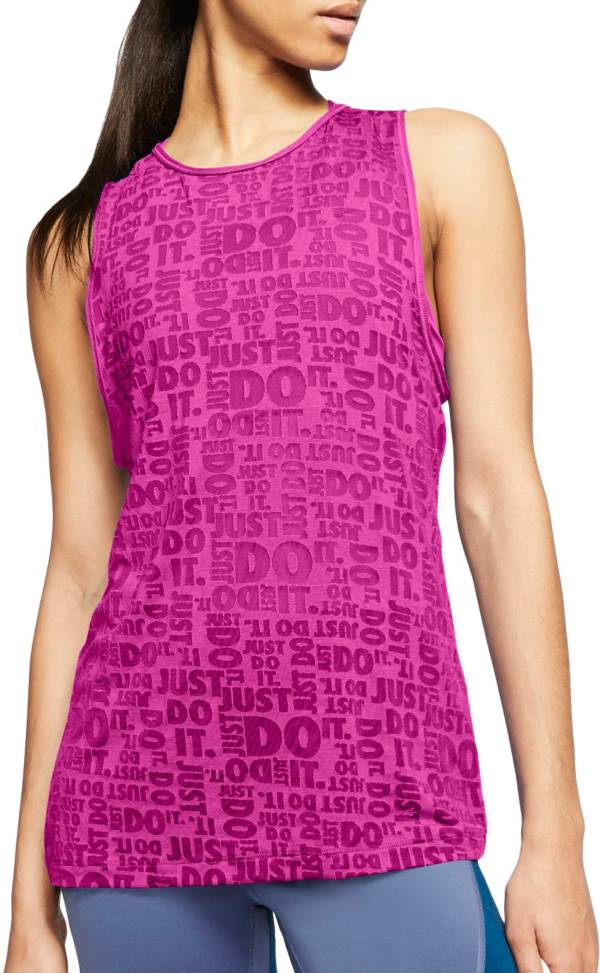 Nike Women's Just Do It Burnout Tank Top product image