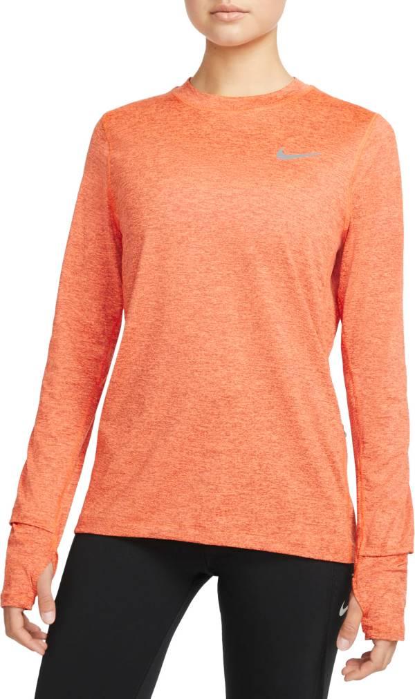 Nike Women's Element Crew Long Sleeve Running Shirt product image