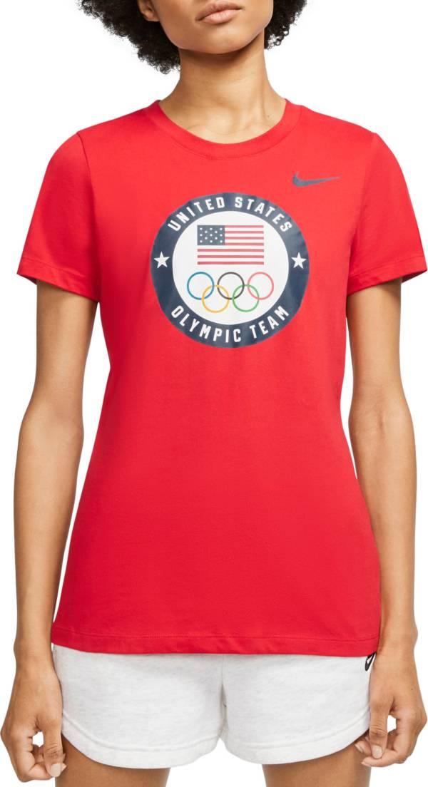 Nike Women's Dri-FIT Team USA Training Short Sleeve T-Shirt product image