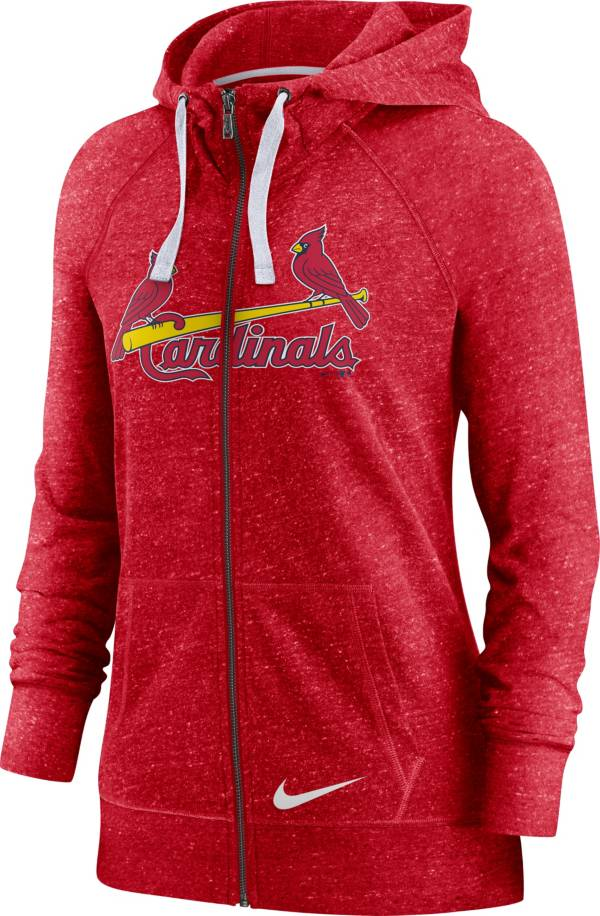 Nike Women's St. Louis Cardinals Gym Vintage Red Hoodie product image