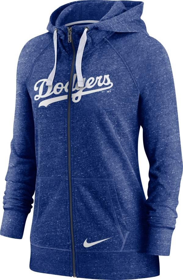 Nike Women's Los Angeles Dodgers Gym Vintage Blue Hoodie product image