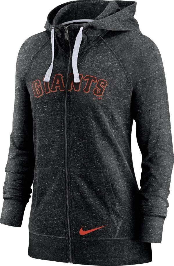 Nike Women's San Francisco Giants Gym Vintage Black Hoodie product image