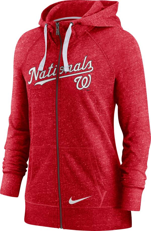 Nike Women's Washington Nationals Gym Vintage Red Hoodie product image