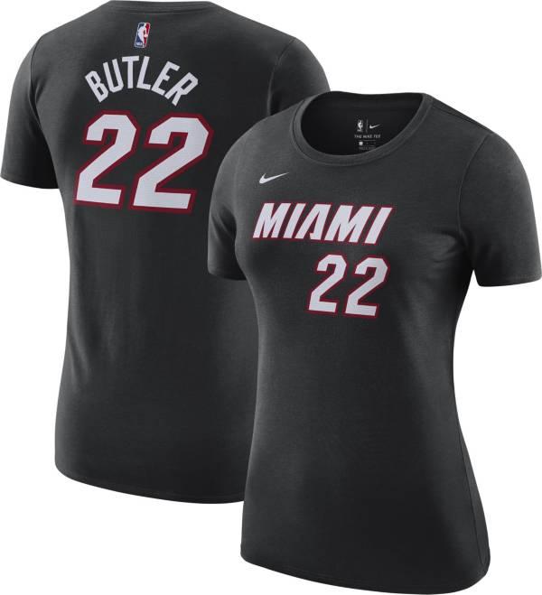 Jordan Women's Miami Heat Jimmy Butler #22 Statement Black T-Shirt product image