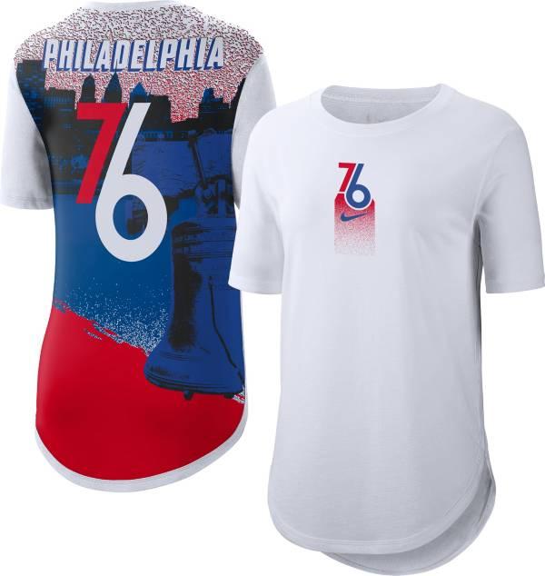 Nike Women's 2020-21 City Edition Philadelphia 76ers Courtside T-Shirt product image