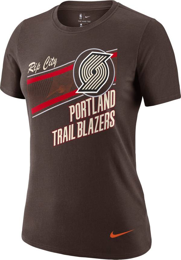 Nike Women's 2020-21 City Edition Portland Trail Blazers Dri-FIT Logo T-Shirt product image