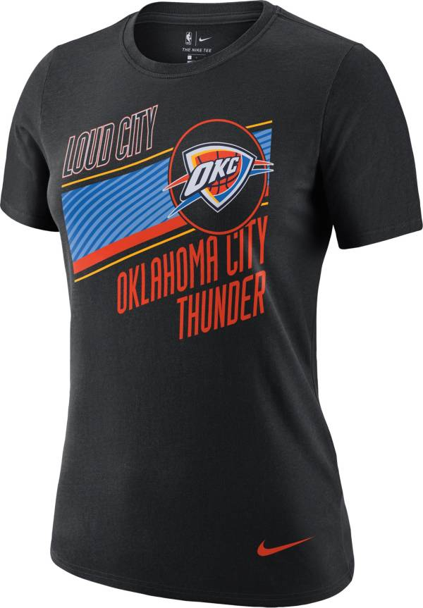 Nike Women's 2020-21 City Edition Oklahoma City Thunder Dri-FIT Logo T-Shirt product image