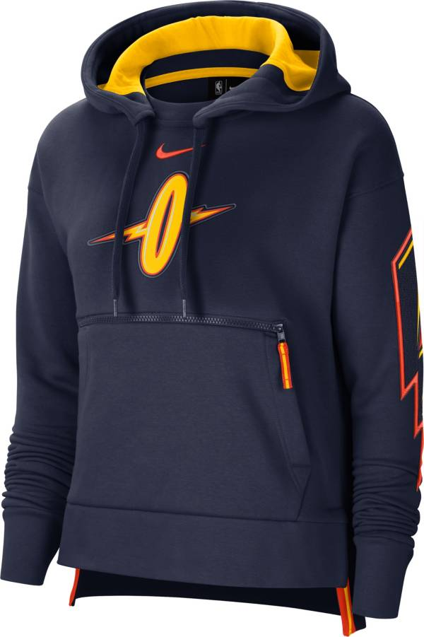 Nike Women's 2020-21 City Edition Golden State Warriors Courtside Pullover Hoodie product image
