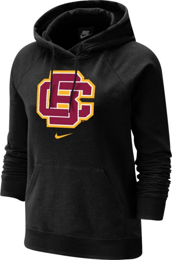 Nike Women's Bethune-Cookman Wildcats Varsity Pullover Black Hoodie product image