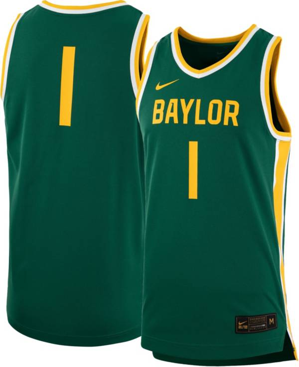 Nike Women's Baylor Bears #1 Green Replica Basketball Jersey product image