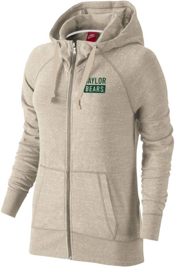 Nike Women's Baylor Bears Full-Zip White Hoodie product image