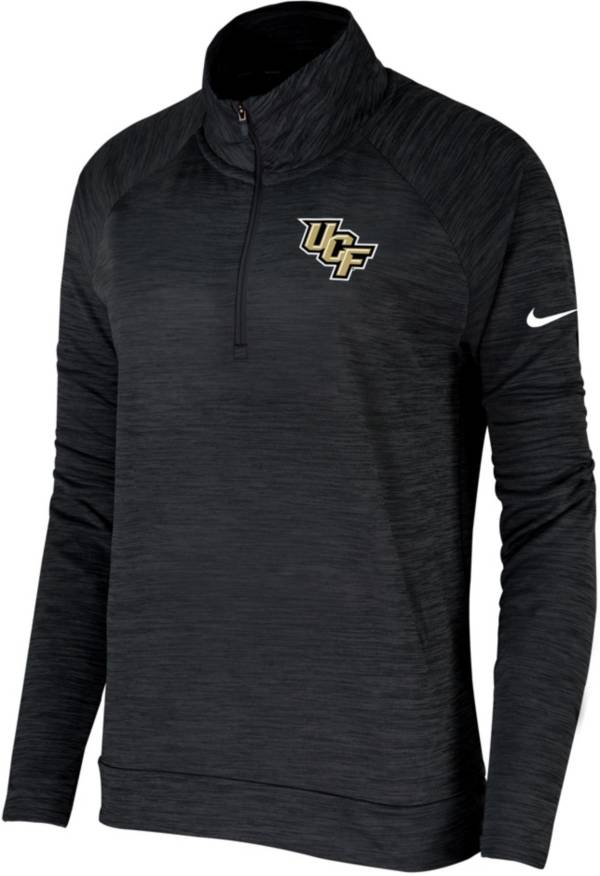 Nike Women's UCF Knights Pacer Quarter-Zip Black Shirt product image