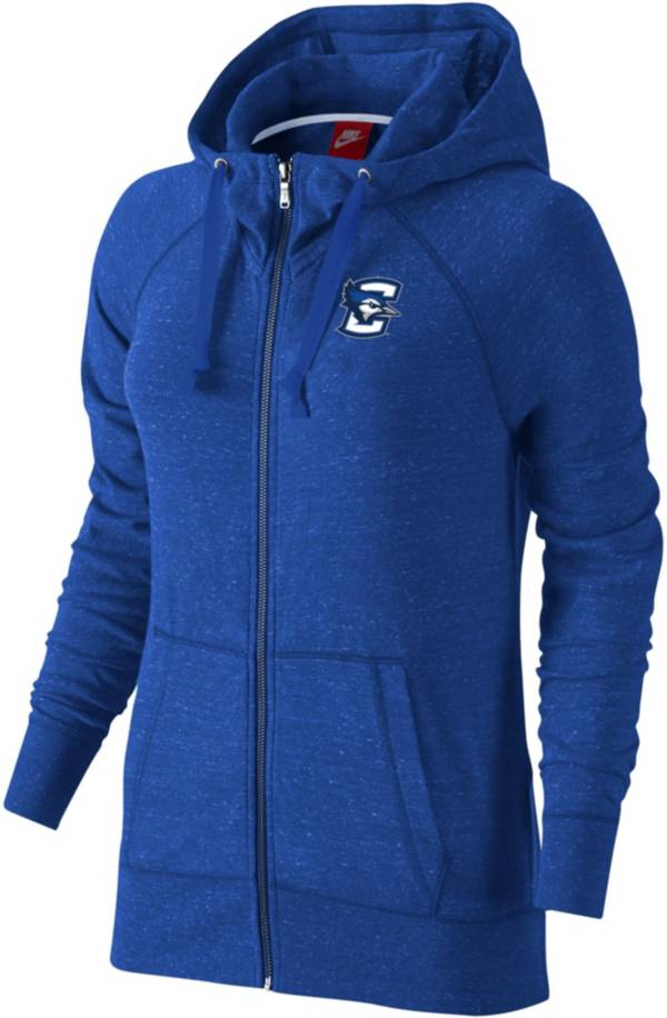 Nike Women's Creighton Bluejays Blue Full-Zip Hoodie product image