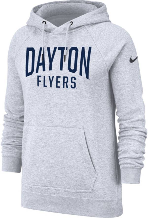 Nike Women's Dayton Flyers Grey Rally Pullover Hoodie product image