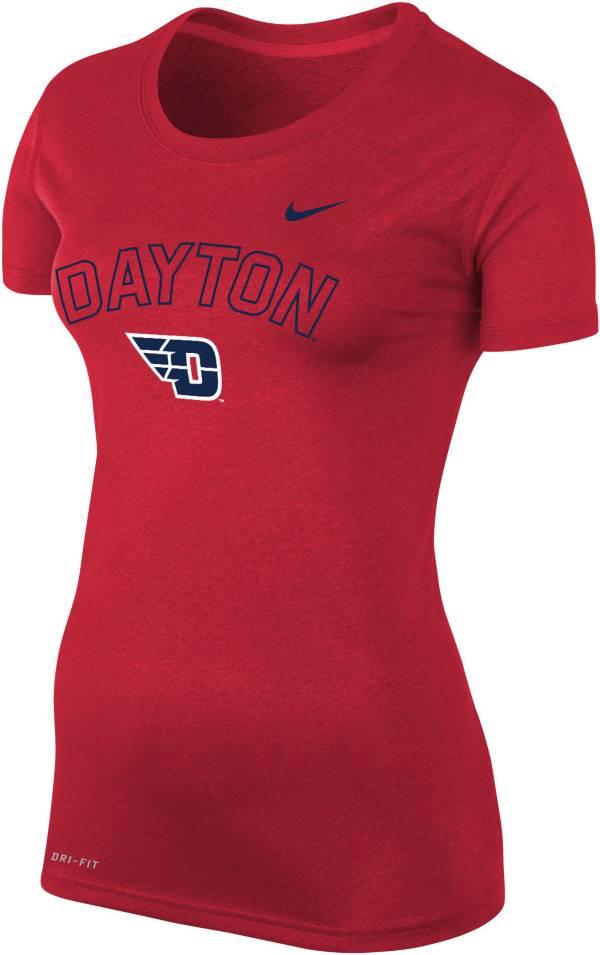 Nike Women's Dayton Flyers Red Logo Dri-FIT Legend T-Shirt product image