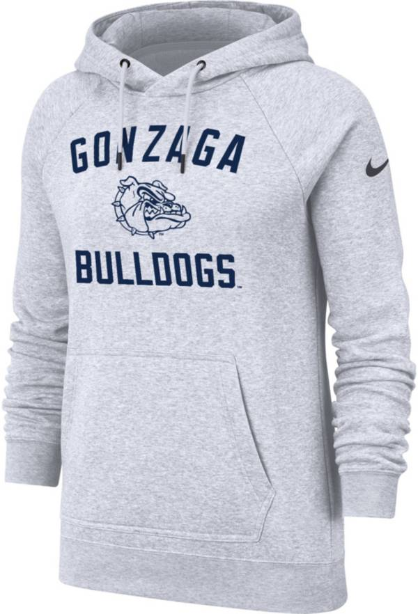 Nike Women's Gonzaga Bulldogs Rally Pullover White Hoodie product image