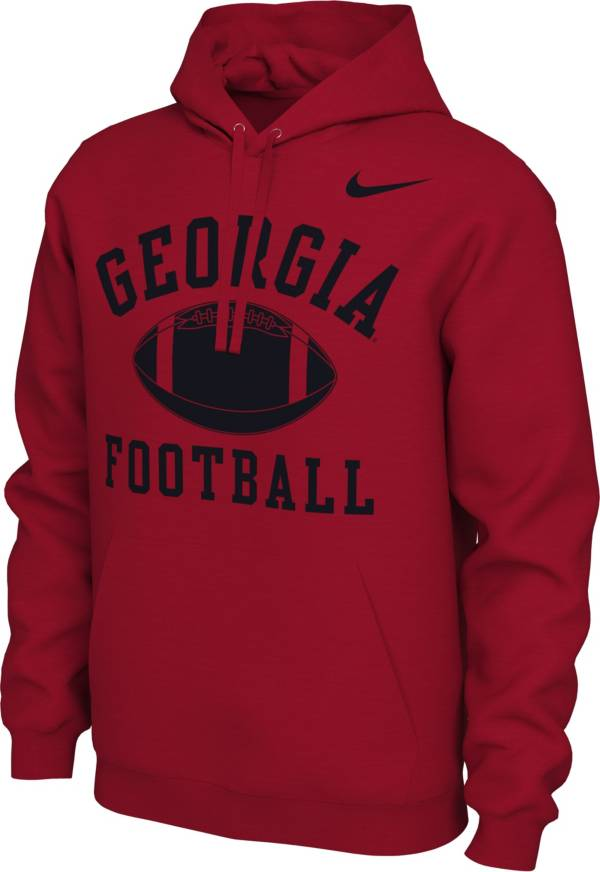 Nike Women's Georgia Bulldogs Red Pullover Football Hoodie product image