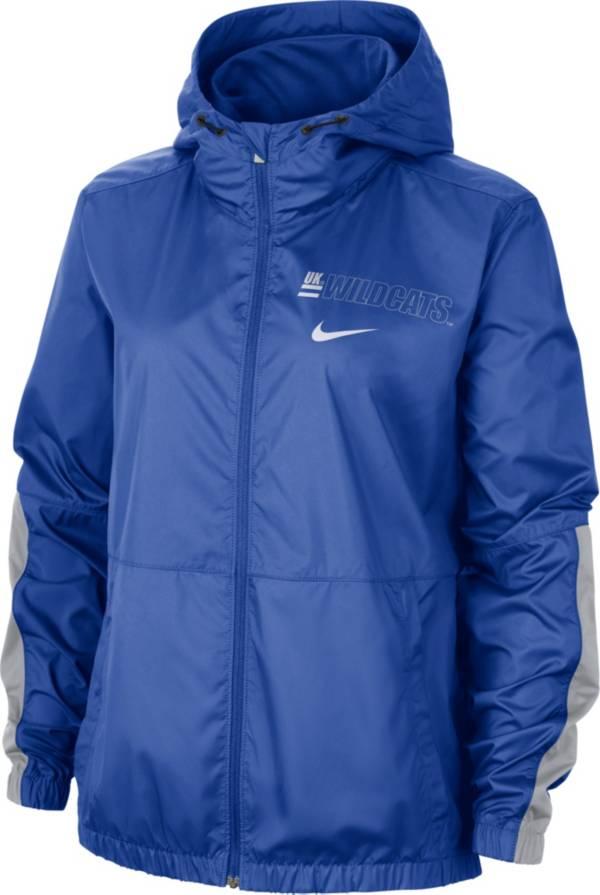 Nike Women's Kentucky Wildcats Blue Full-Zip Repel Parka product image