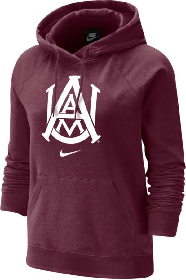 Nike Women's Alabama A&M Bulldogs Maroon Varsity Pullover Hoodie product image