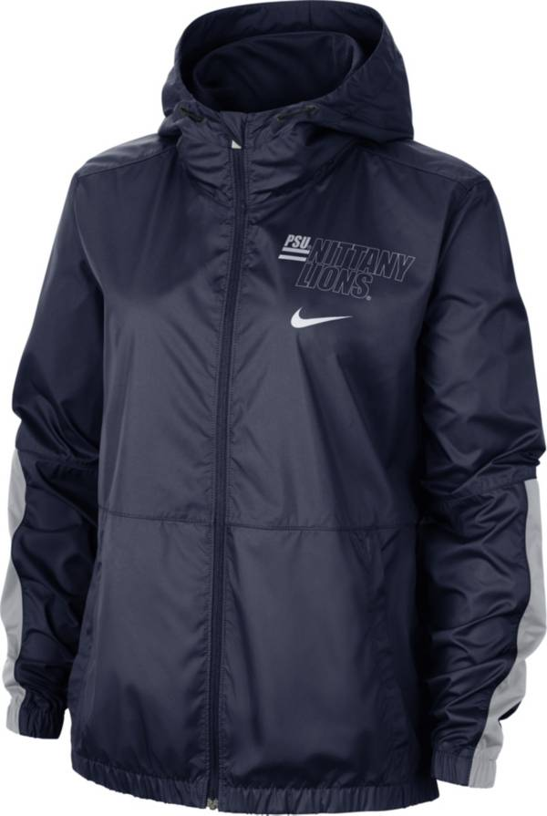 Nike Women's Penn State Nittany Lions Blue Full-Zip Repel Parka product image