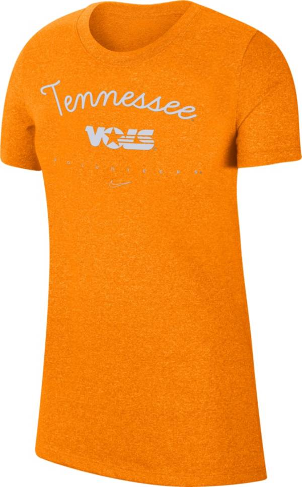 Nike Women's Tennessee Volunteers Tennessee Orange Marled Crew T-Shirt product image