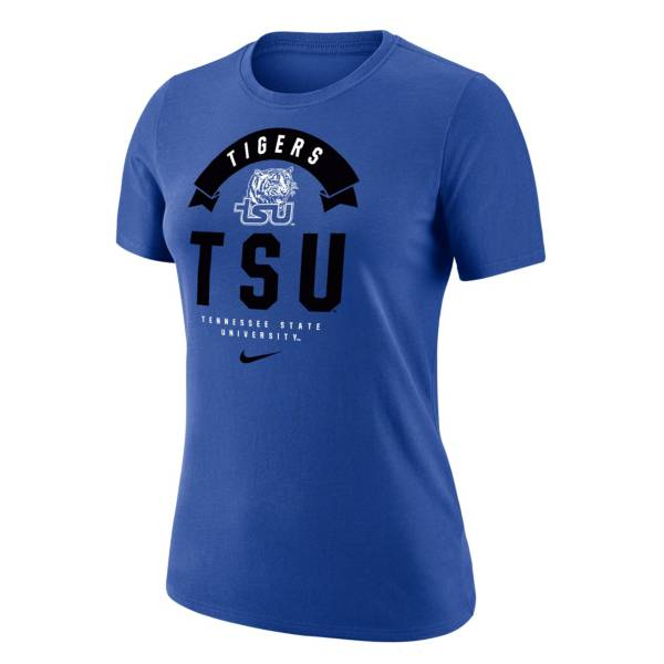 Nike Women's Tennessee State Tigers Royal Dri-Fit Cotton T-Shirt product image