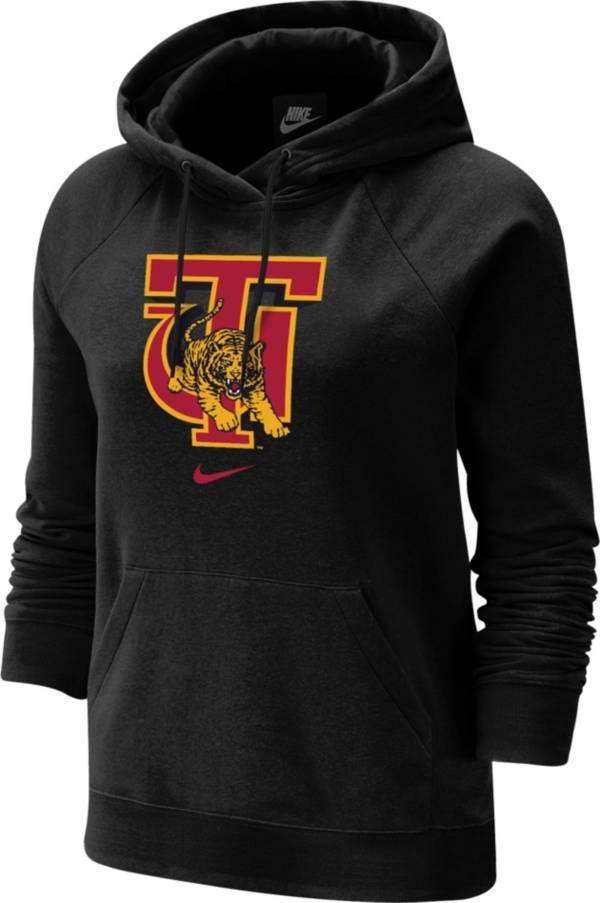 Nike Women's Tuskegee Golden Tigers Varsity Pullover Black Hoodie product image