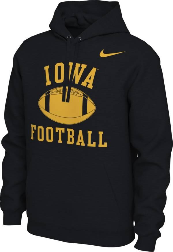 Nike Women's Iowa Hawkeyes Pullover Football Black Hoodie product image