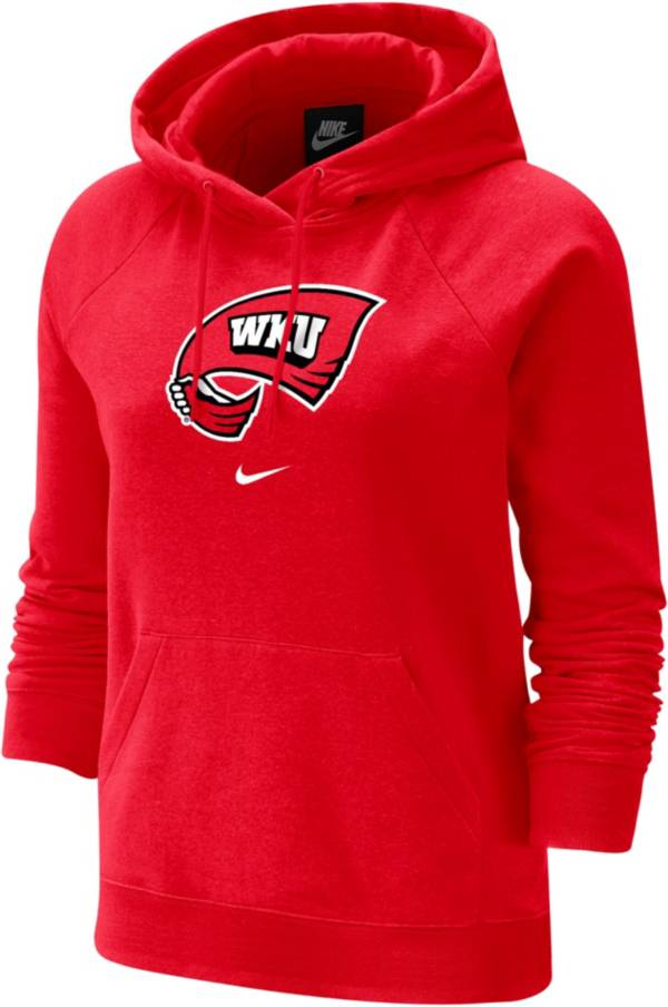 Nike Women's Western Kentucky Hilltoppers Red Fleece Pullover Hoodie product image