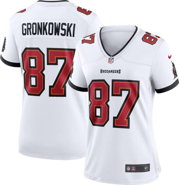 Nike Women's Tampa Bay Buccaneers Rob Gronkowski #87 White Game Jersey product image