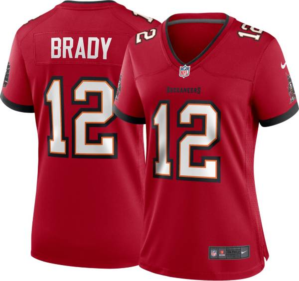 Nike Women's Tampa Bay Buccaneers Tom Brady #12 Home Red Game Jersey product image