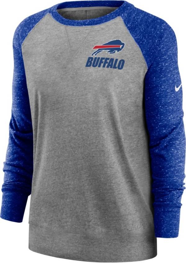 Nike Women's Buffalo Bills Gym Vintage Grey Sweatshirt product image