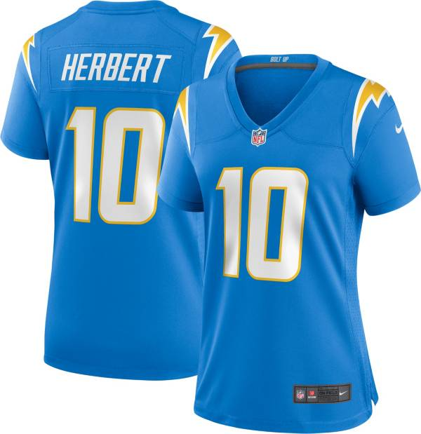 Nike Women's Los Angeles Chargers Justin Herbert #10 Blue Game Jersey product image