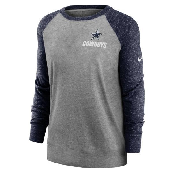 Nike Women's Dallas Cowboys Gym Vintage White Long Sleeve T-Shirt product image