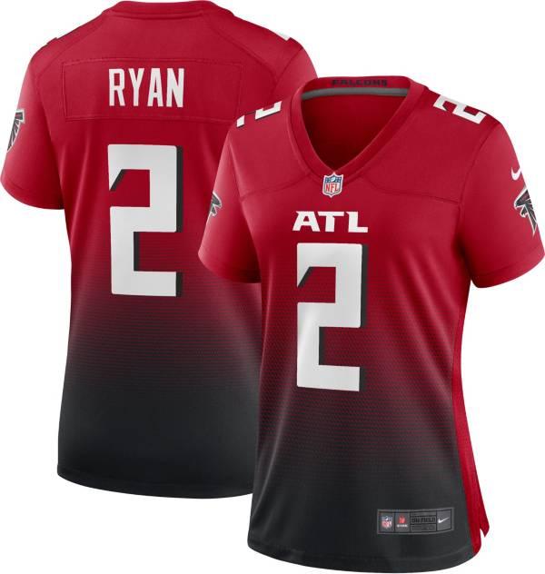 Nike Women's Atlanta Falcons Matt Ryan #2 Red/Black Game Jersey