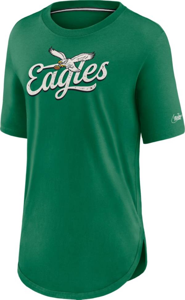 Nike Women's Philadelphia Eagles Pine Green Football Funday Weekend T-Shirt product image