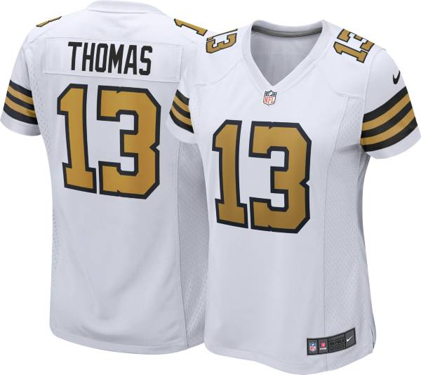 Nike Women's New Orleans Saints Michael Thomas #13 White Game Jersey product image