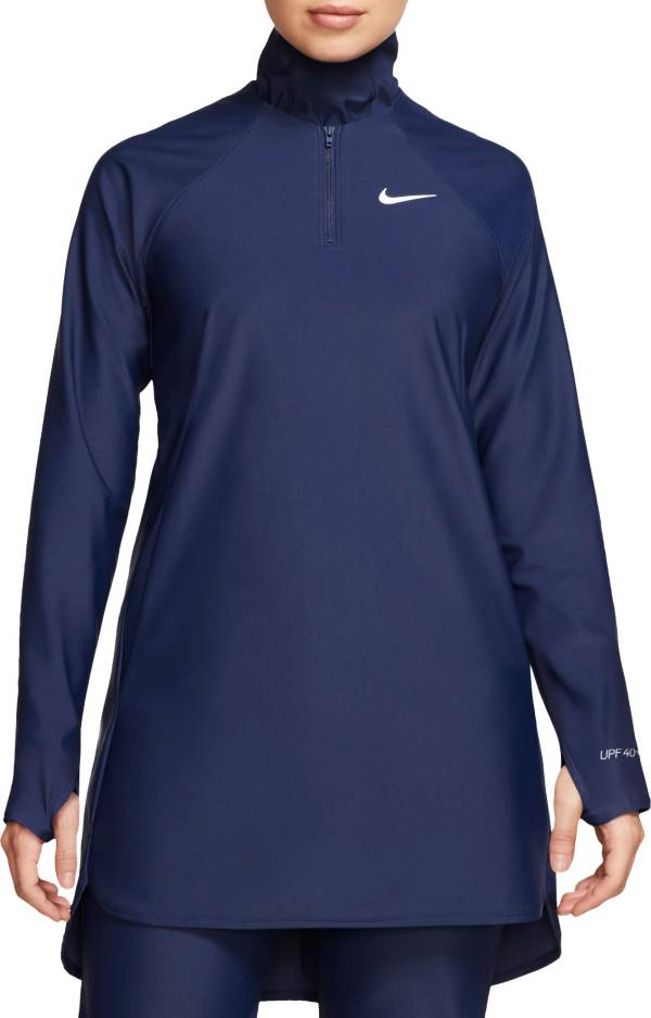 Nike Women's Victory Full Coverage Solid Swim Tunic product image