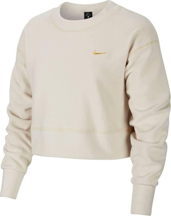 Nike Women's Therma Fleece Icon Clash Long Sleeve Training Top product image