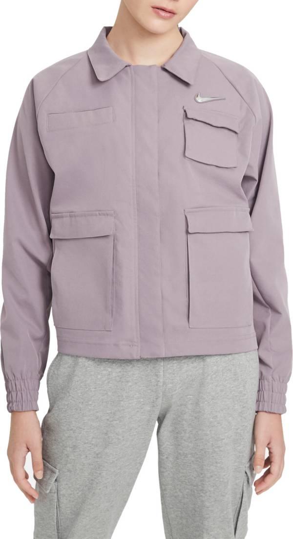 Nike Women's Sportswear Swoosh Woven Jacket product image