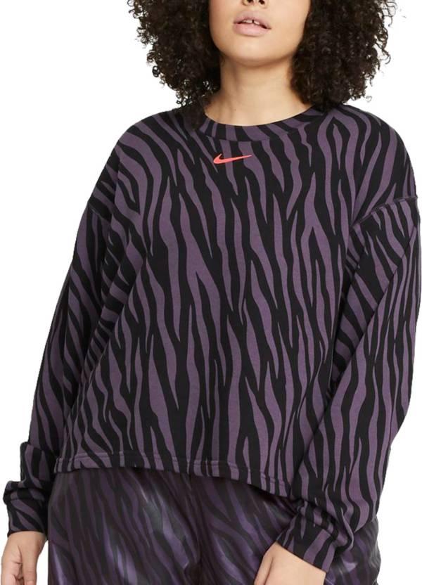 Nike Women's Plus Size Icon Clash Fleece Crew Pullover product image