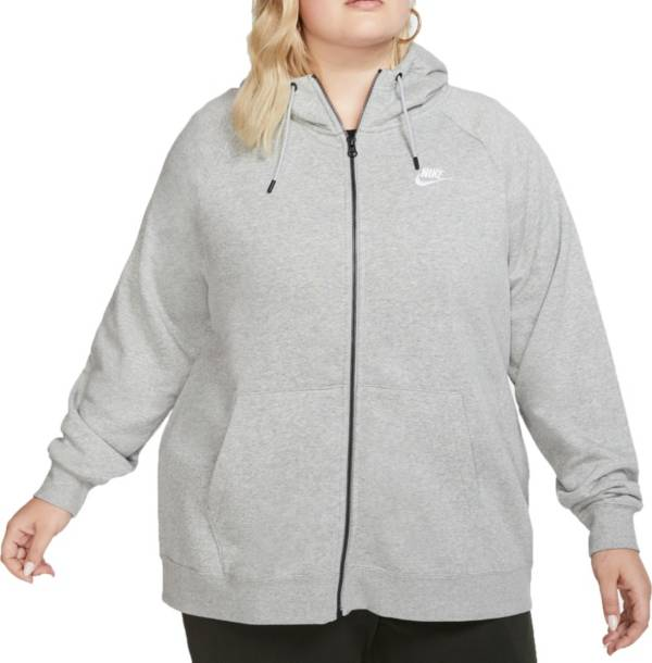 Nike Women's Plus Size Sportswear Essentials Full-Zip Hoodie product image