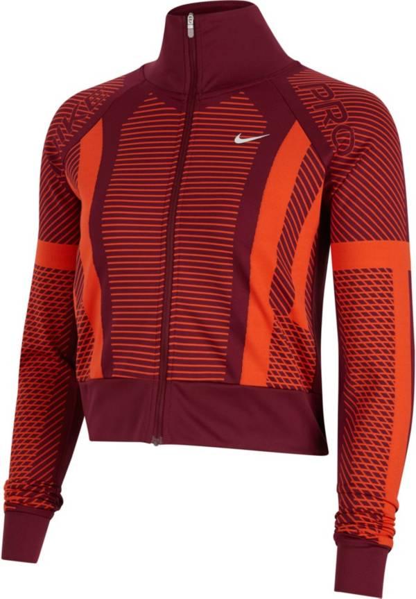 Nike Women's Pro Knit Full-Zip Jacket product image