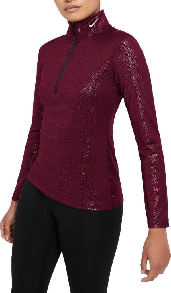 Nike Women's Pro Warm Sparkle 1/2 Zip Running Top product image